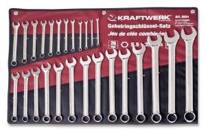 Ratschen Ringgabelschlüssel 21 mm Ringschlüssel Ratsche Maulschlüssel KRAFTWERK